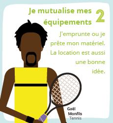 Affiche 2 , un geste éco-responsable