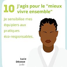 Affiche 10 , un geste éco-responsable