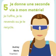 Affiche 5 , un geste éco-responsable