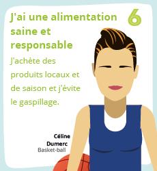 Affiche 6 , un geste éco-responsable